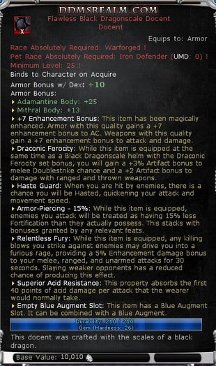 New Dungeons and Dragons Online Update 17 Items