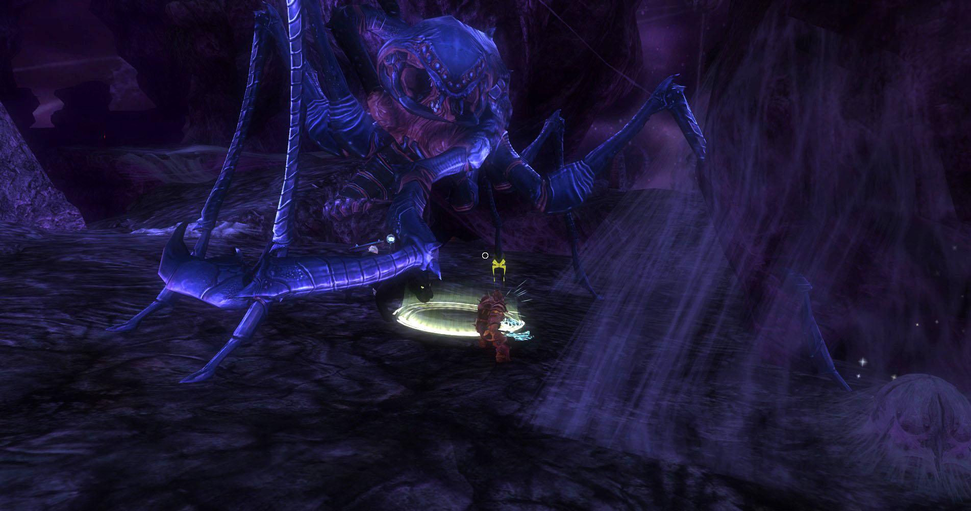 ddmsrealm-ddo-demonweb-bebilith-bug-attack