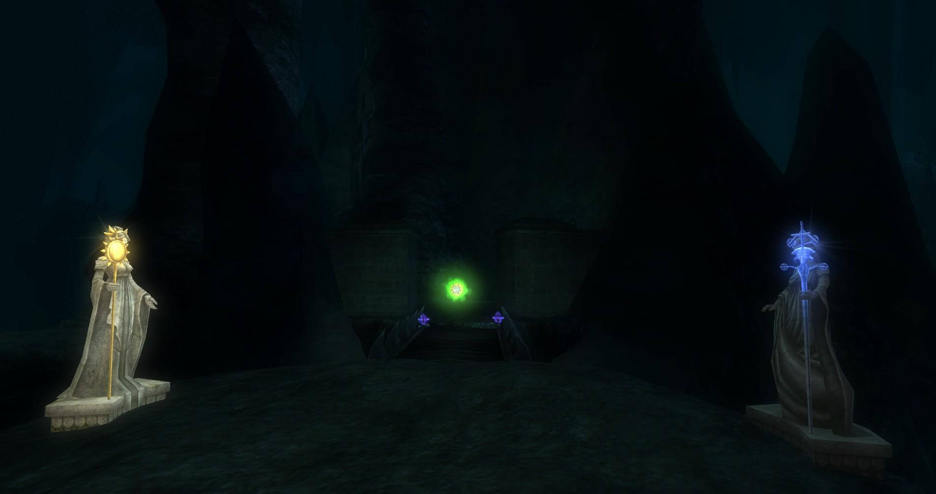 ddmsrealm-ddo-underdark-shrines-spell-wards