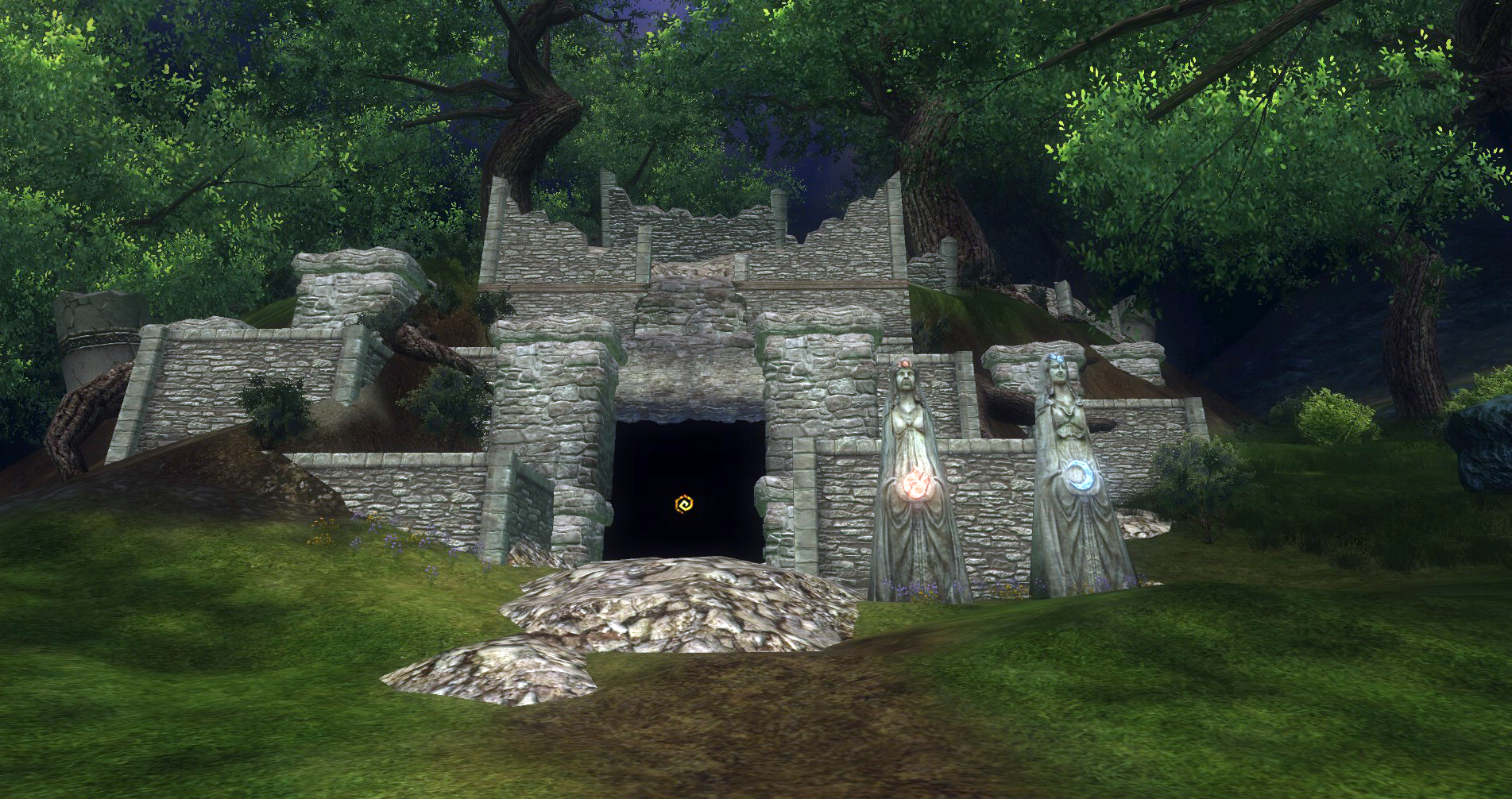 ddmsrealm-ddo-the-kings-forest-abandoned-temple
