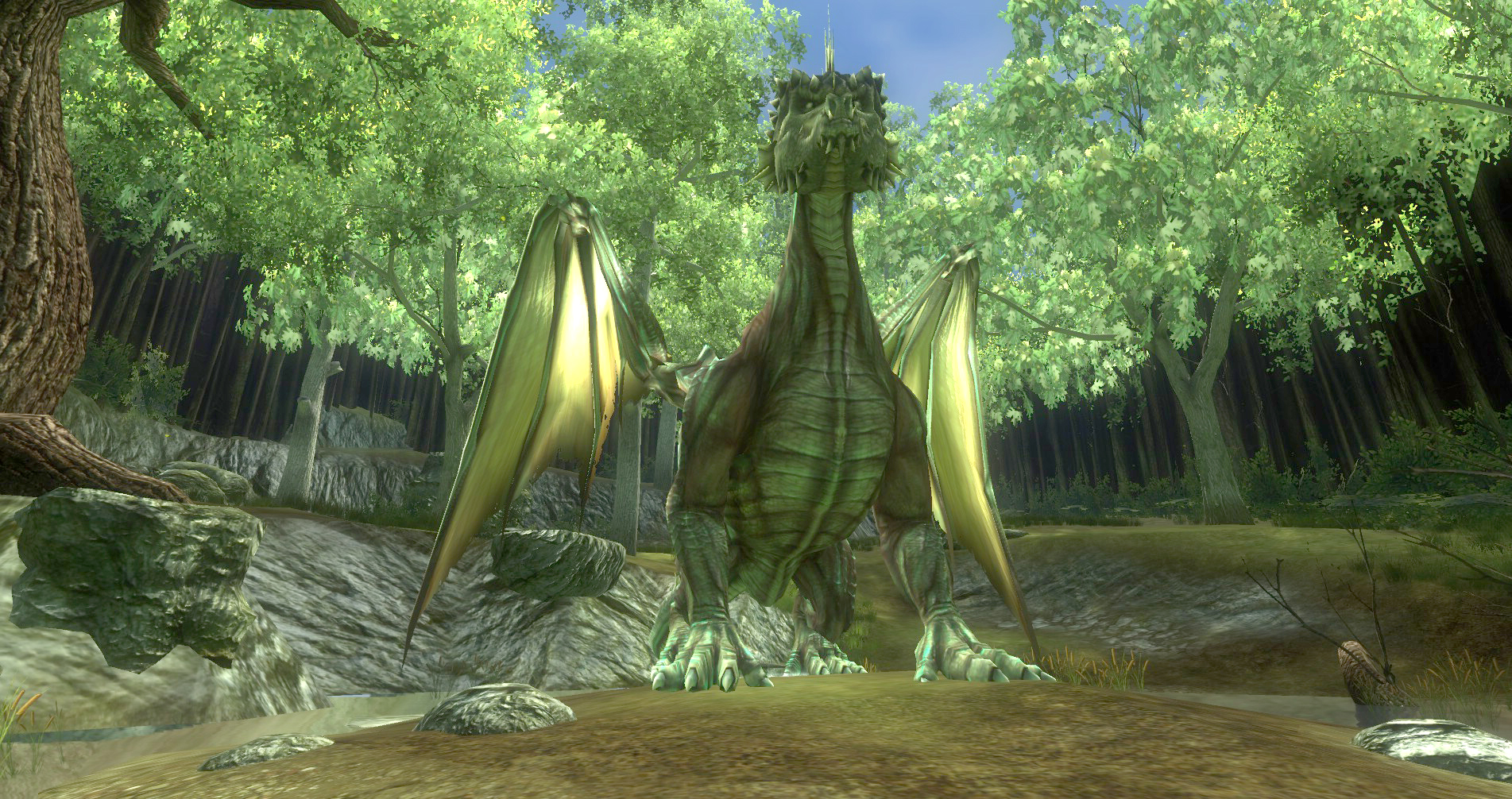 ddmsrealm-ddo-the-kings-forest-dragon-chillin