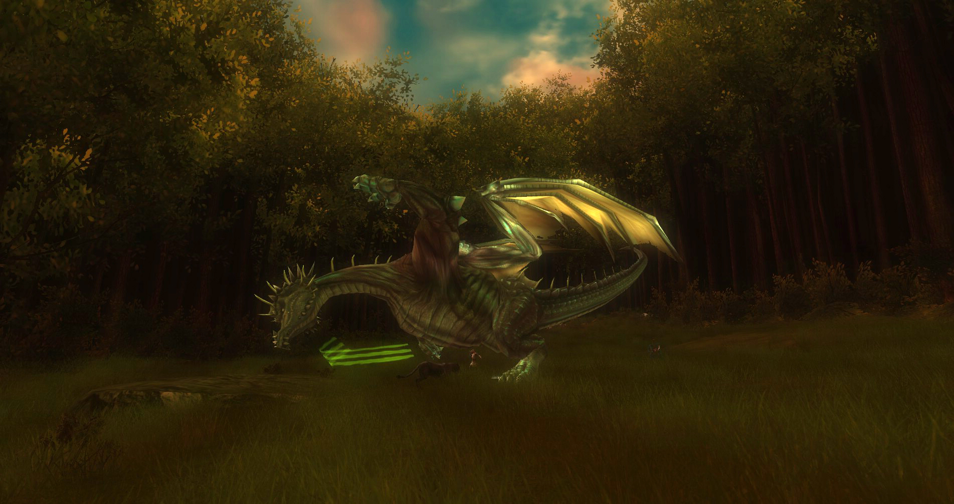 ddmsrealm-ddo-the-kings-forest-dragon-eat-hireling