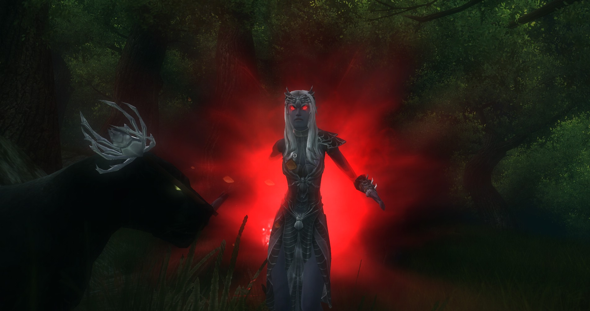 ddmsrealm-ddo-the-kings-forest-drow-high-priestess