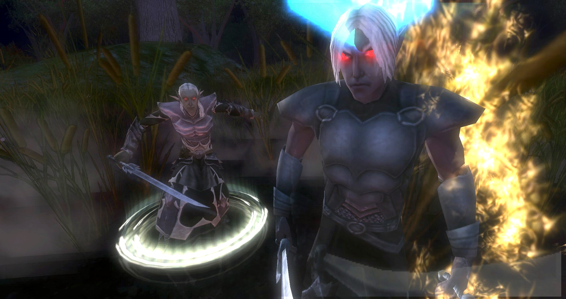 ddmsrealm-ddo-the-kings-forest-drow-random-encounter