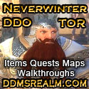 DDM's Realm DDO and SWTOR Online Guides, Walkthroughs, and Database